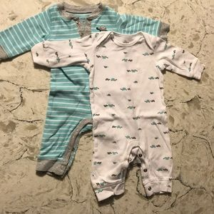 Two Carters 3 month Bodysuits